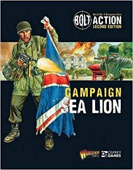 Bolt Action 2nd Edition: Campaign Sea Lion - Leisure Games