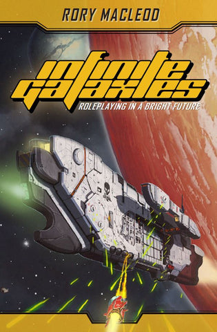 Infinite Galaxies Core Rules (expected in stock on 2nd April)