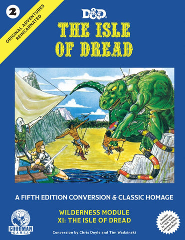 Original Adventures Reincarnated #2: The Isle of Dread (5E Adventure, Hardback) (expected in stock on 15th January)