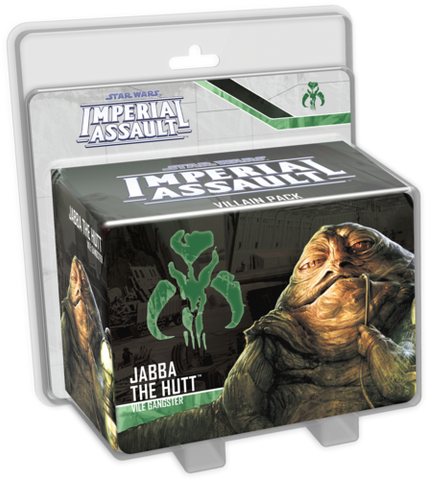 Star Wars Imperial Assault: Jabba the Hutt Villain Pack