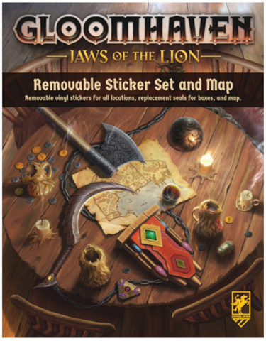 Gloomhaven: Jaws of the Lion - Removable Stocker Set & Map (expected in stock around 14th May)