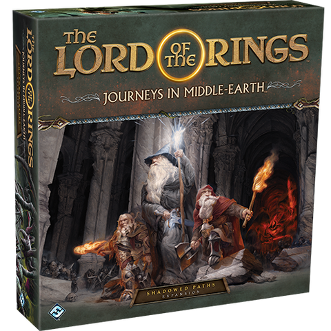 Lord of the Rings: Journeys in Middle-Earth Board Game - Shadowed Paths Expansion (expected in stock on 7th July)
