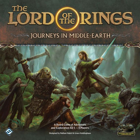 The Lord of the Rings: Journeys in Middle-Earth Board Game (release date 18th April)