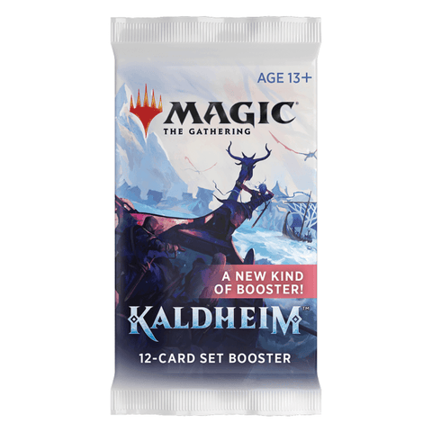 Magic The Gathering: Kaldheim Set Booster (release date 5-7 February, pre-release weekend 29-31 January)