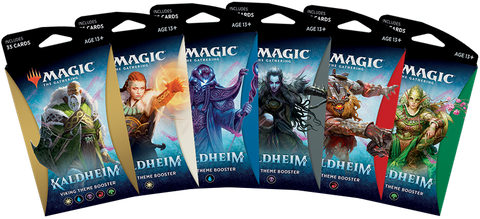 Magic The Gathering: Kaldheim Theme Booster (release date 5-7 February, pre-release weekend 29-31 January)