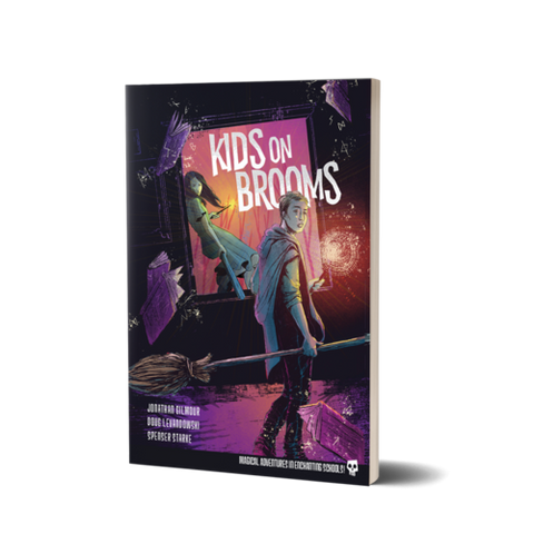 Kids on Brooms RPG + complimentary PDF