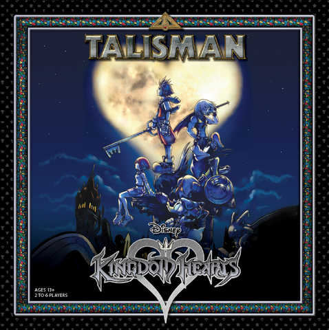 Talisman: Kingdom Hearts (expected in stock on 18th August)