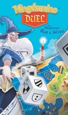 Kingdomino Duel (Roll & Write)