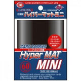 Card Barrier Hyper MAT Mini  (60 sleeves, 62x89mm)