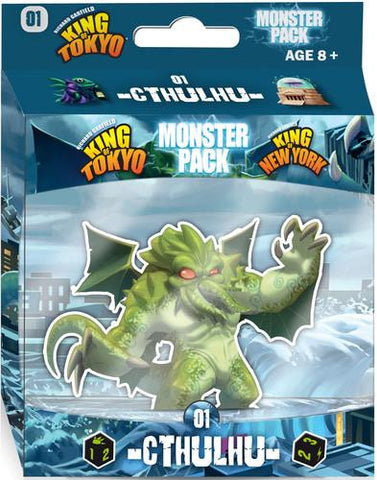 King of Tokyo / King of New York: Monster Pack - Cthulhu