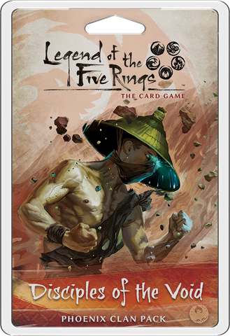 Legend of the Five Rings : Living Card Game : Clan Pack - Disciples of the Void