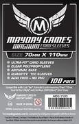 Magnum Silver Card Sleeves 70 MM X 110 MM (Mayday MDG7103)