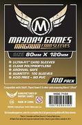 Magnum Gold Card Sleeves 80 MM X 120 MM (Mayday MDG7104)