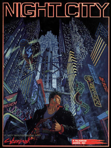Cyberpunk 2020 RPG: Night City