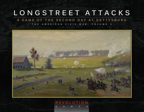 Longstreet Attacks: The Second Day at Gettysburg (ziplock)