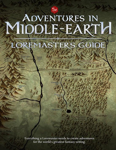 Adventures in Middle Earth: Loremaster's Guide + complimentary PDF