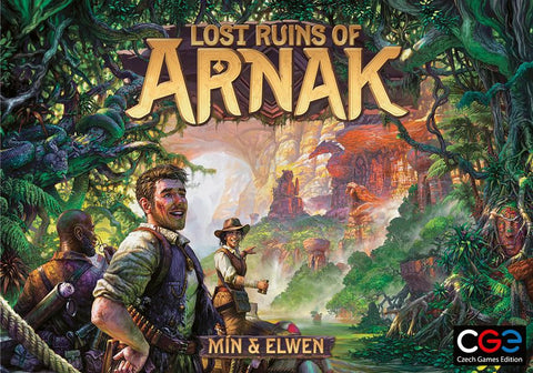 Lost Ruins of Arnak (pre-order, expected 2020)