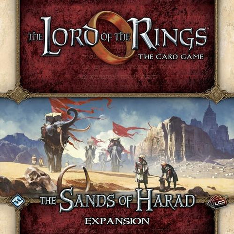 Lord of the Rings The Card Game: The Sands of Harad Expansion
