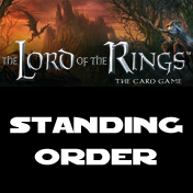 A Lord of the Rings : Living Card Game Standing Order - Leisure Games