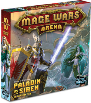 Mage Wars Arena: Paladin vs Siren
