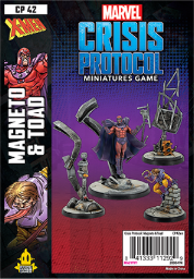 Marvel Crisis Protocol: Mageneto And Toad