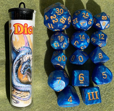 Dungeon Crawl Classics Dice: Maned Wyrm