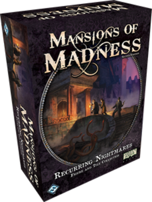 Mansions of Madness 2nd Edition: Recurring Nightmares Figure & Tile Collection