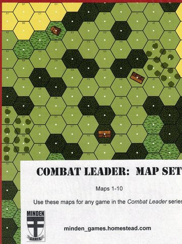 Combat Leader: Map Set 1-10