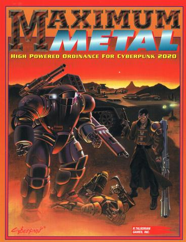 Cyberpunk 2020 RPG: Maximum Metal
