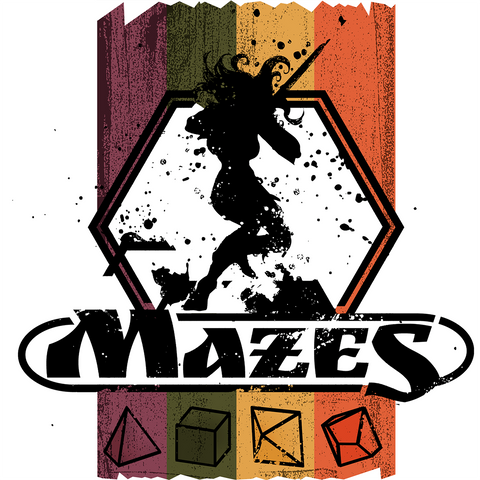 Mazes (expected in stock on 2nd April)