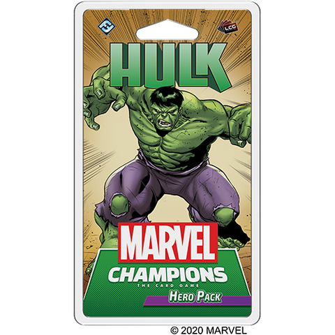 Marvel Champions: Hulk Hero Pack (expected in stock on 4th August)