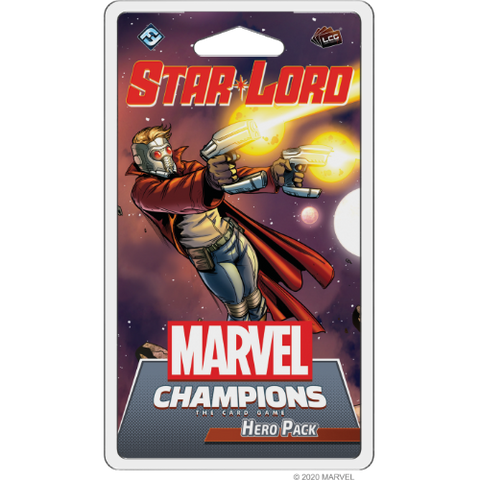 Marvel Champions: Star-Lord Hero Pack (release date 14th May)