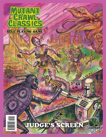 Mutant Crawl Classics #0: Judge's Screen