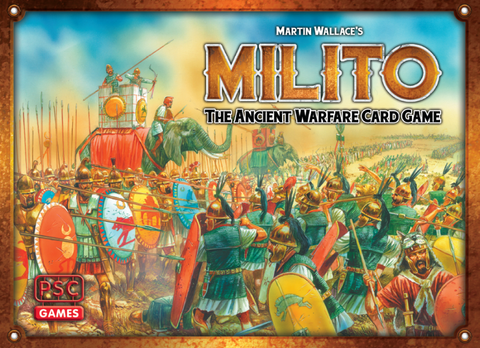Martin Wallace's Milito: The Ancient Warfare Card Game