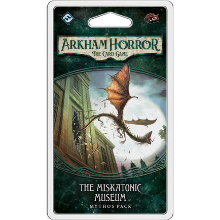 Arkham Horror The Card Game: The Miskatonic Museum Mythos  Pack - Leisure Games