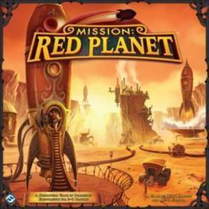 Mission: Red Planet (2nd Edition) - reduced