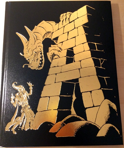 The Monster Alphabet - Gold Foil cover