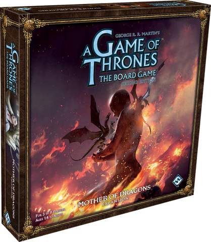 A Game Of Thrones The Board Game: Mother of Dragons Expansion - Leisure Games