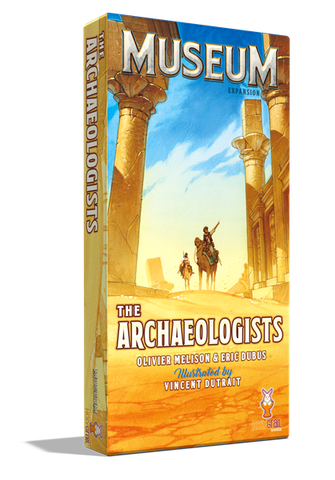Museum: The Archaeologists (expected in stock on 21st May)