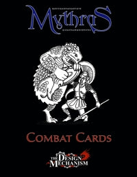 Mythras Combat Cards