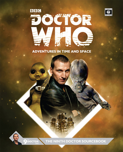 Doctor Who Ninth Doctor Sourcebook + complimentary PDF