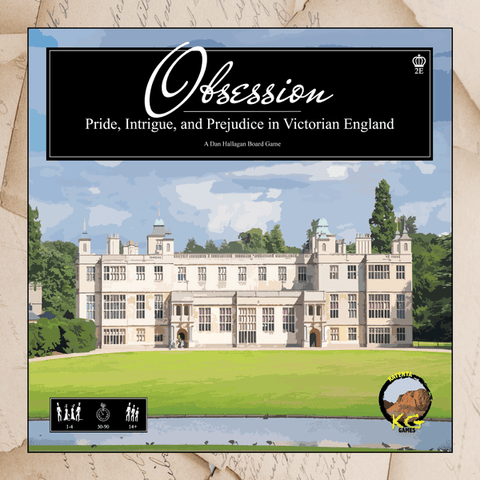 Obsession Board Game: 2nd Edition