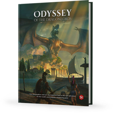 Odyssey of the Dragonlords (5e): Hardcover Adventure Book + complimentary PDF