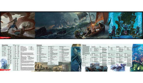 Dungeons & Dragons DM Screen: Of Ships & The Sea