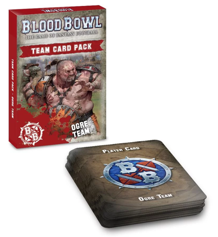 Blood Bowl: Ogre Team Card Pack - reduced price