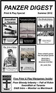 Panzer Digest: Print & Play Special (Summer 2012)