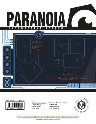 Paranoia: Interactive Screen