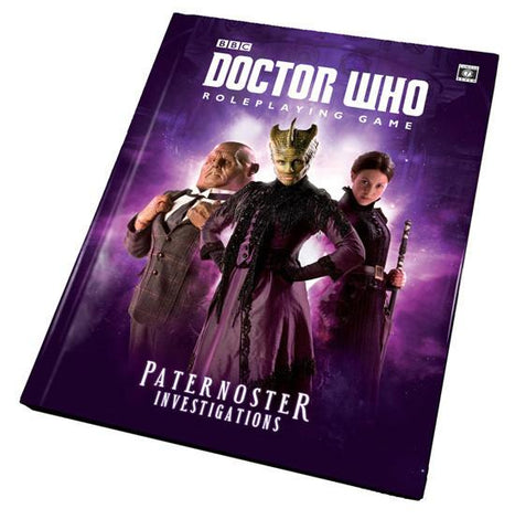 Doctor Who: Paternoster Investigations + complimentary PDF