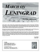 Panzer Grenadier: March on Leningrad