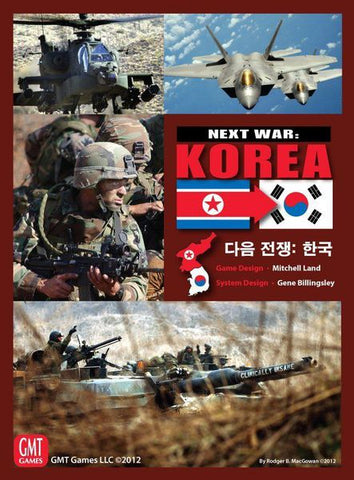 Next War: Korea, 2nd Edition (expected in stock on 10th February)